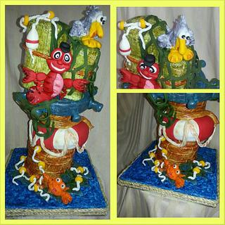 Lobster Tale - Cake by Gleibis
