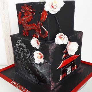 Birthday with China theme