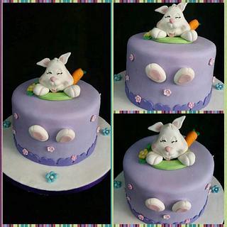 Bunny Cake!!! - Cake by DeliciasGloria
