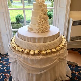 My first wedding cake ❤