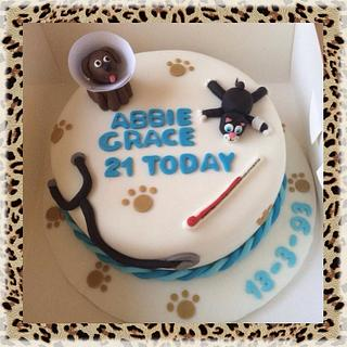 Cake for a Veterinary student