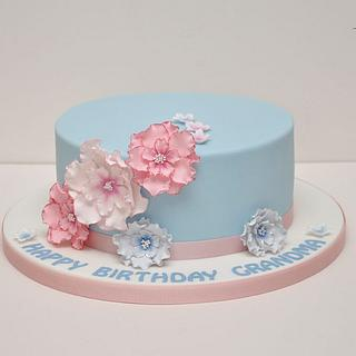 "Pretty Cake For ""Grandma"""