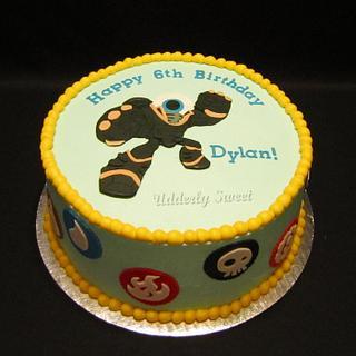 """Skylanders Giants """"Eye Brawl"""" Cake"""
