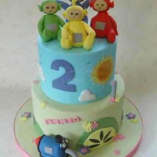 Teletubbies - Cake by The Cake Lady (Tracy)