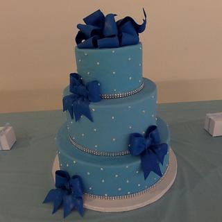 Royal Blue Bows!