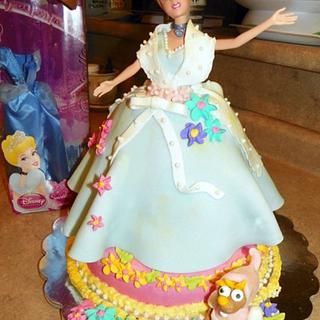 First time 3D Cake - Cinderella