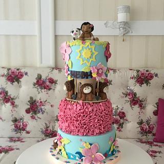 Moana - Cake by Doroty