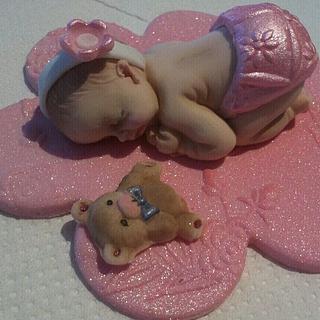 Gumpaste Baby
