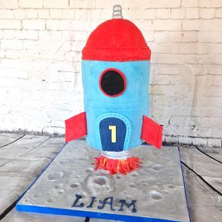 Number 1 rocket