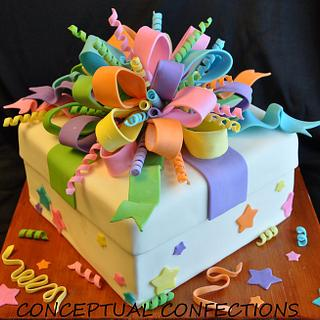 Gift Box - Cake by Jessica