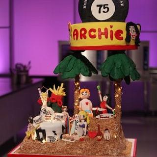 Cake Wars Winning Cake- Archie Comics