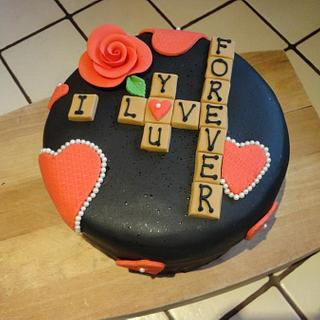 A cake for your Valentine? - Cake by Leah Stevenson