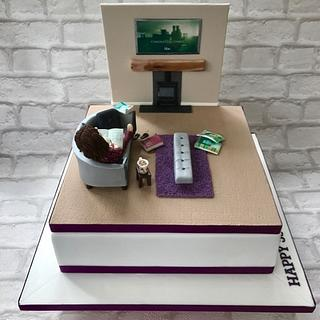 Chilling time - Cake by Canoodle Cake Company