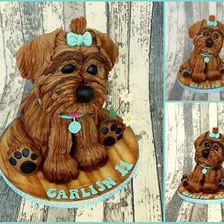 3D dog cake - Cake by Karen Dodenbier