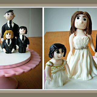 Family wedding Topper