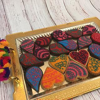 Henna cookies