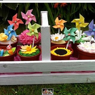 Springtime cupcakes - Cake by chaddy
