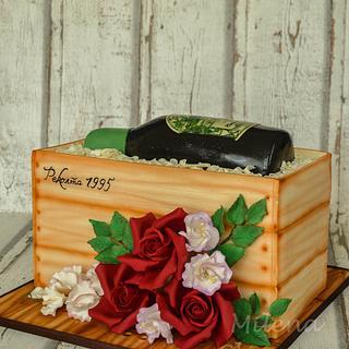 Wedding Anniversary Cake - Cake by MilenaChanova