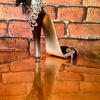 A Walk on the Wild Side Sugar Shoe