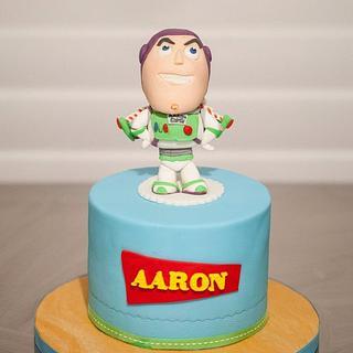 Buzz Lightyear Bobble-head Style Cake