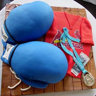 St. Louis Sports Fan Groom's Cake
