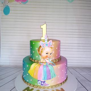 Baby Princess Unicorn