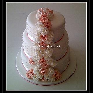Wedding Cake - Cake by Kays Cakes