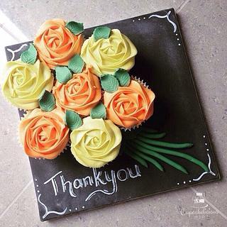 Thankyou teacher - Cake by Cupcakelicious