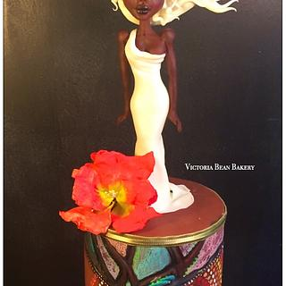 African Sunsets - Cake by VictoriaBean