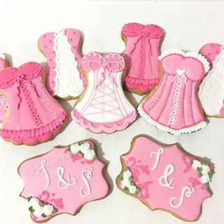 Bridal Shower cookies - Cake by Beli