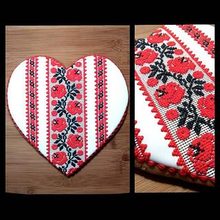 Emboidery cookie