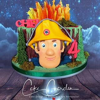 Fireman Sam Cake