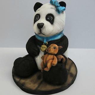Alessia The Panda Cake