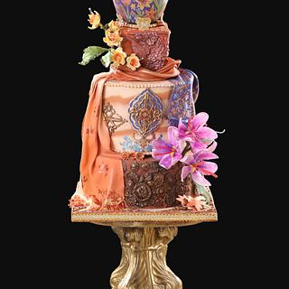'Jannat'(Paradise)-The BakeBox n more  - Cake by thebakeboxnmore
