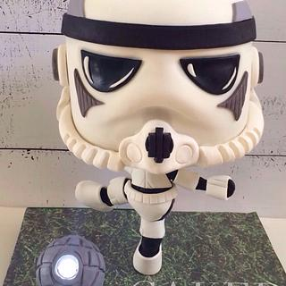 Stormtrooper Playing Soccer
