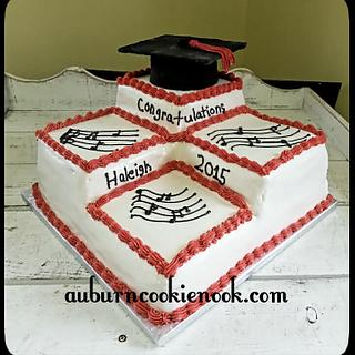 Stair Step Cake - Cake by Cookie Nook