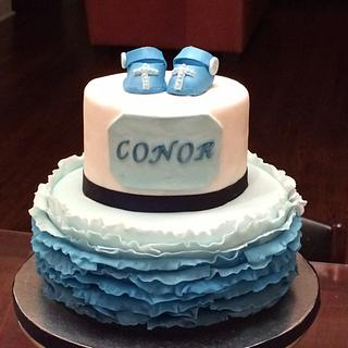 My first baptism cake for our good friends - Cake by Talia