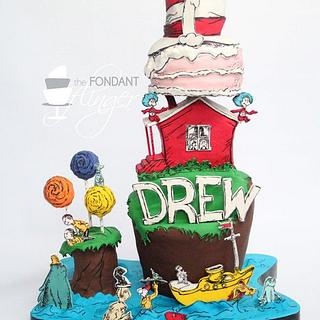 Seuss stacked cake