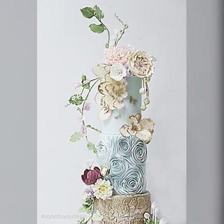 Garden Florals Cake