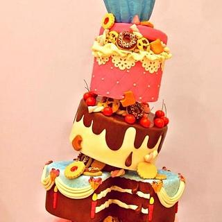 Sweet explosion - Cake by Flavia De Angelis