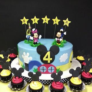 Mickey Mouse Playhouse for Bella