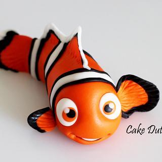 Finding Nemo Caketopper