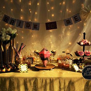 PDCA Caker Buddies Dessert Table Collaboration- Gliterrati bachelorette