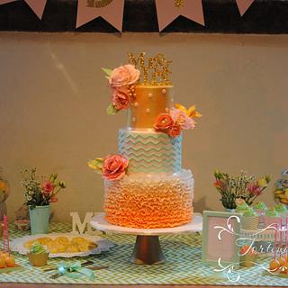 """Weddingcake """"Color Concept"""""""