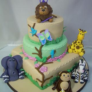 The Lion's Kingdom - Cake by Nizelle Olivo