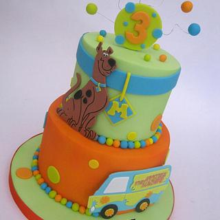 Scooby Doo 2 Tier Cake