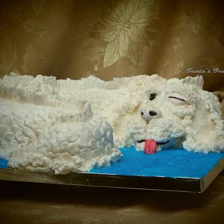 Falcor: Sugar Myths and Fantasies: Global Edition - Cake by Samantha Dean