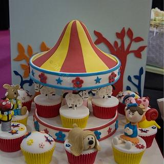 The Magic Roundabout - Cake by sarah