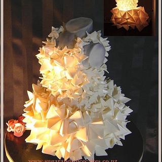 Art Dress Cake
