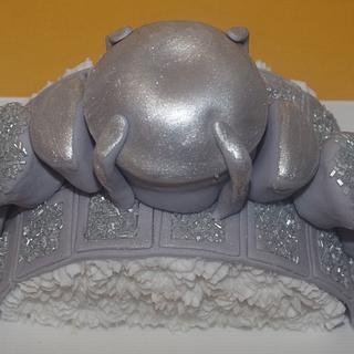Diamond Ring Cupcake